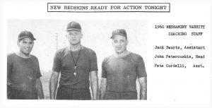 1960 New Coaches