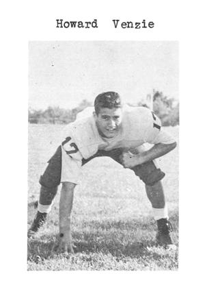 1960 Senior Venzie Howard