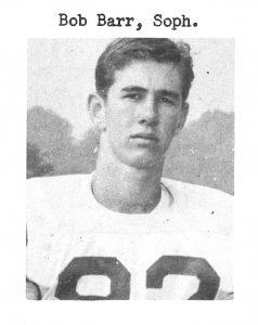 1960 Sophomore Bob Barr