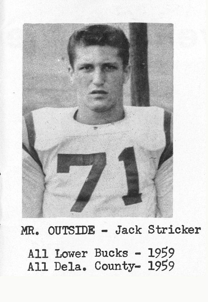 1960 Special Awards Stricker