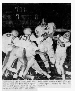 1960_10_15 Morrisville game Harry Schuh
