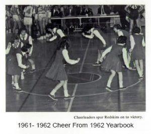 1961-1962 Cheer