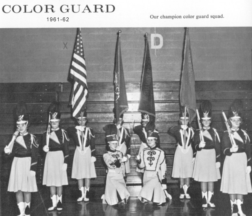 1961-62 Color Guard