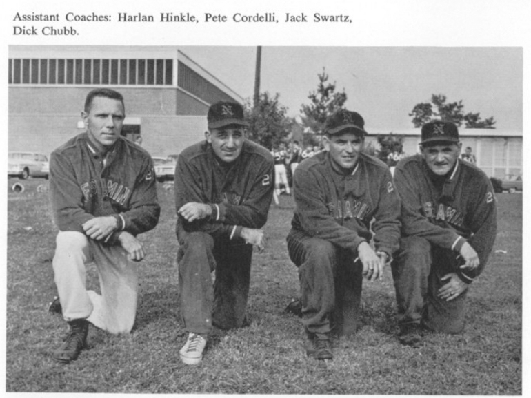 1961 Assistant Coaches