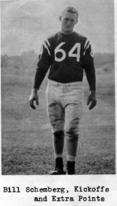 1961 Senior Bill Schemberg