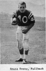 1961 Senior Bruce Evans