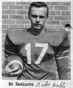 1961 Senior Ed Kaminski