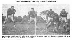 1962 Backfield