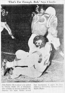 1962 Bensalem Game Baxter