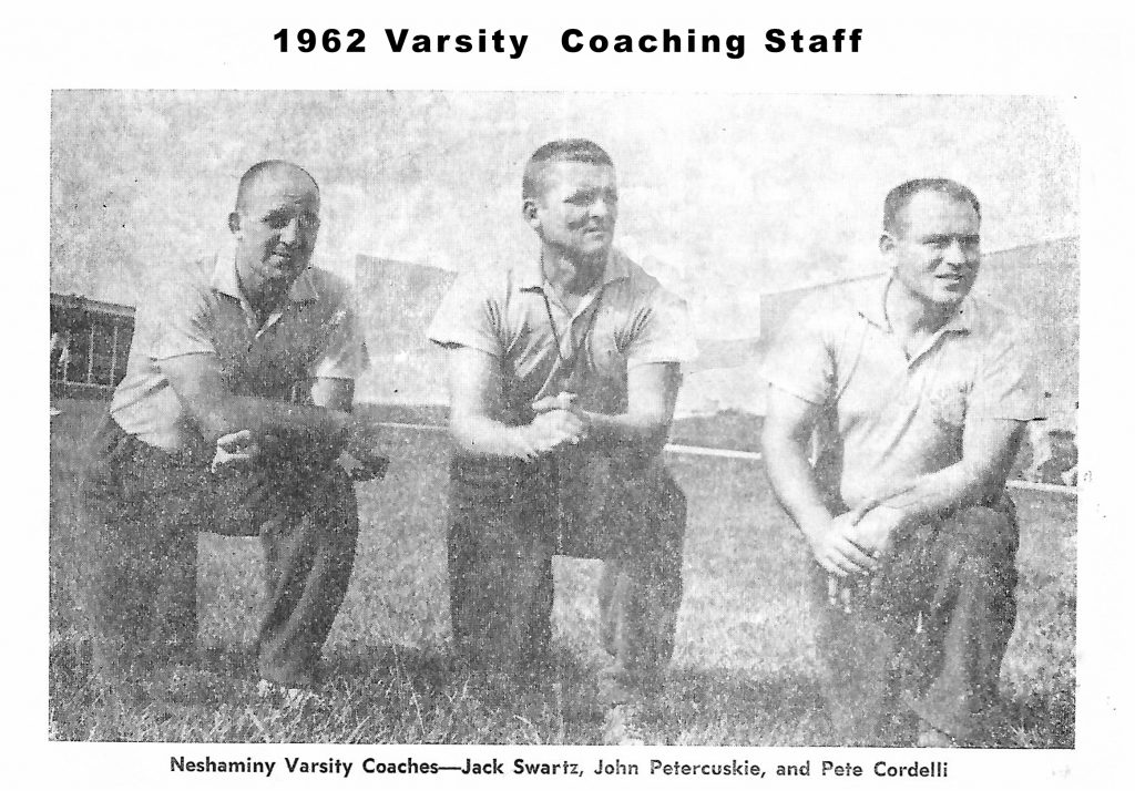 1962 Coaching Staff 2