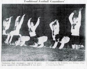 1962 Delhaas Game Cheer
