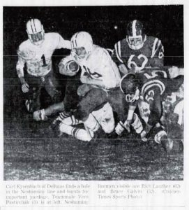 1962 Delhaas Game Rich Lauther and Bruce Galvin