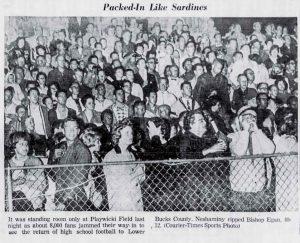 1962 Egan Game Fans