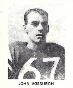 1962 Junior John Vosburgh