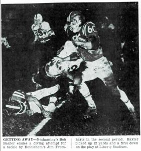 1962 Liberty Game Bob Baxter