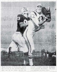 1962 Pennsbury Game Mark Ciccone