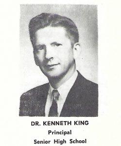 1962 Principal Ken King