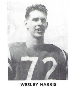 1962 Senior Harris Wesley