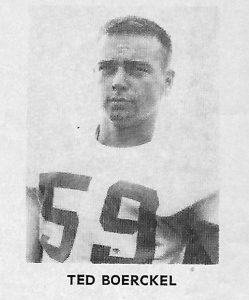 1962 Sophomore Ted Boerckel
