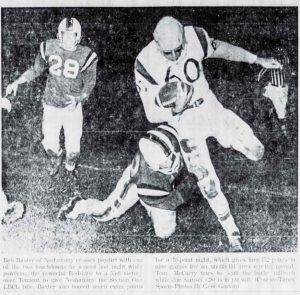 1962 Tennent Game Bob Baxter