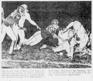 1962_10_12_Neshaminy Vs Woodrow Wilson Bob Cummings and Bill Brundzo