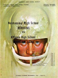 1966 Cover - November 6, 1965 - Neshaminy Vs Altoona