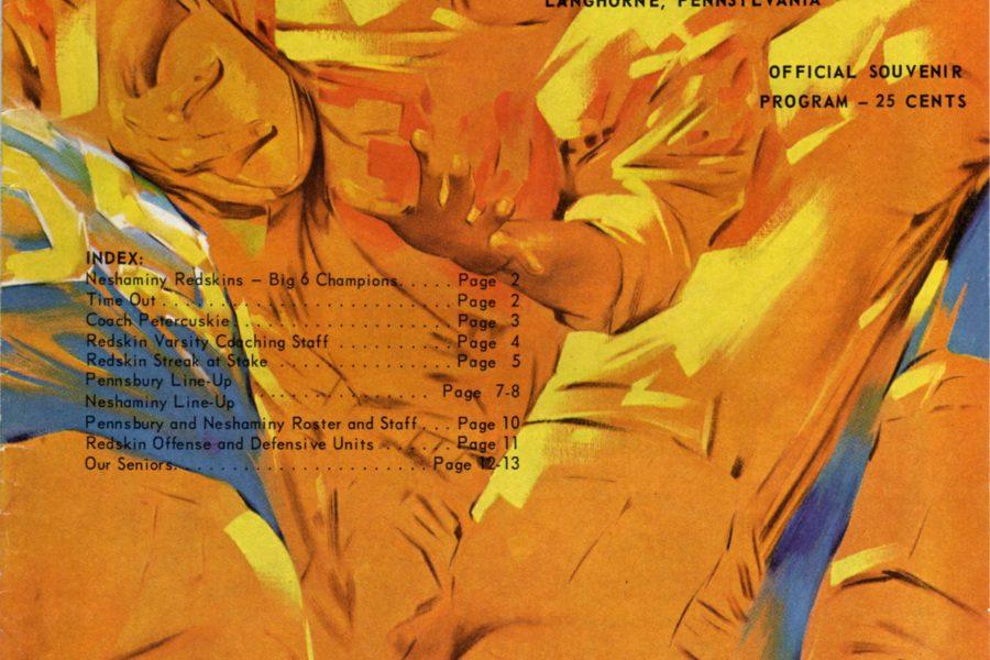 1965 Cover - November 12, 1965 - Neshaminy Vs Pennsbury