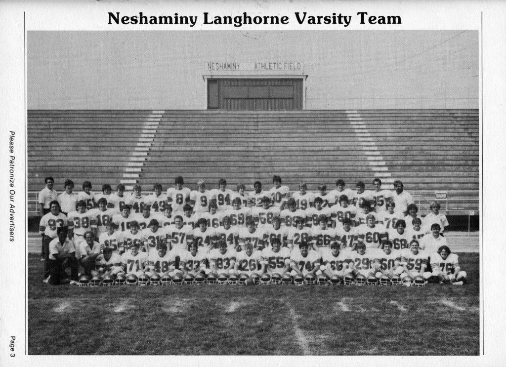 1981 Neshaminy Redskins