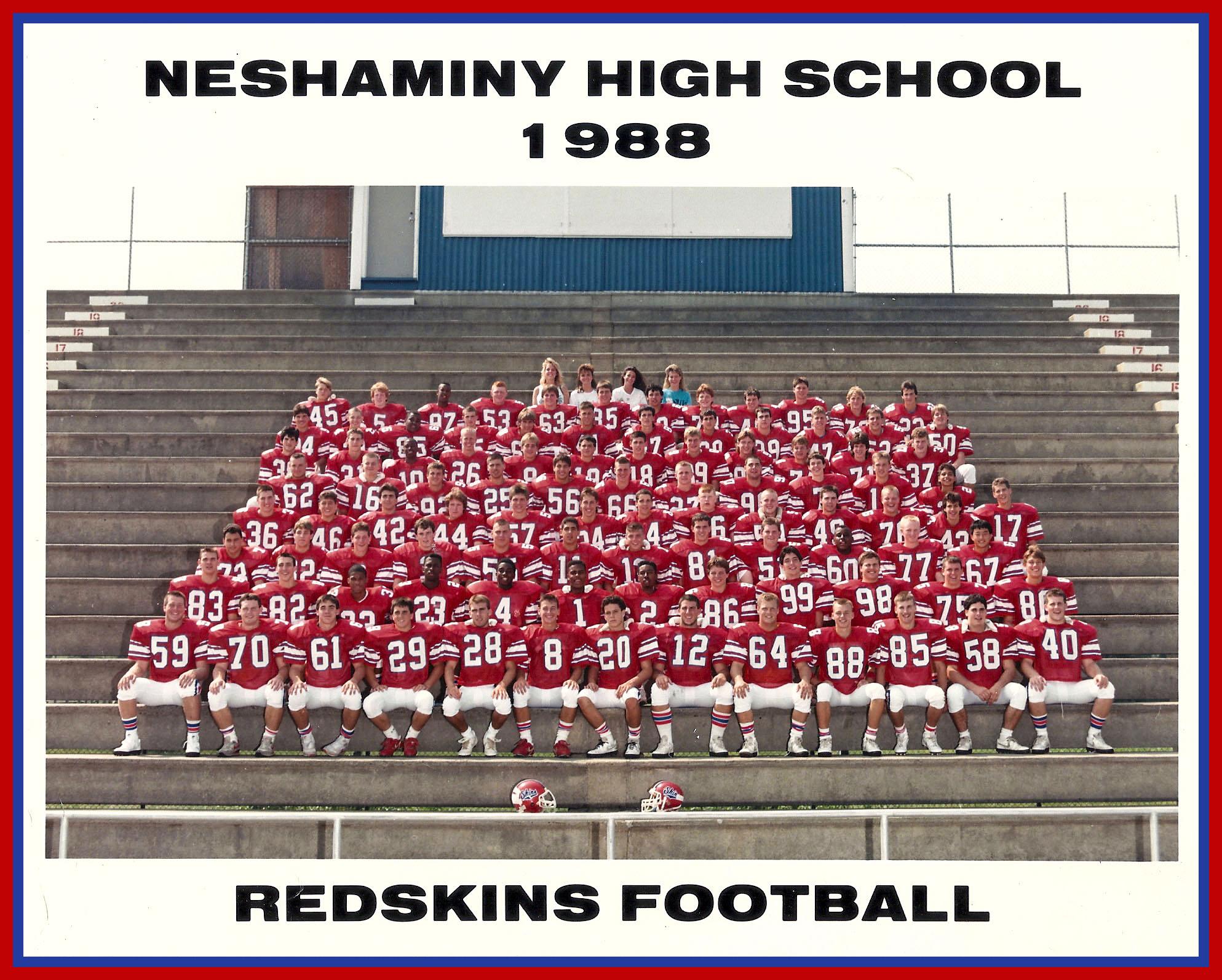 1988 Neshaminy Redskins