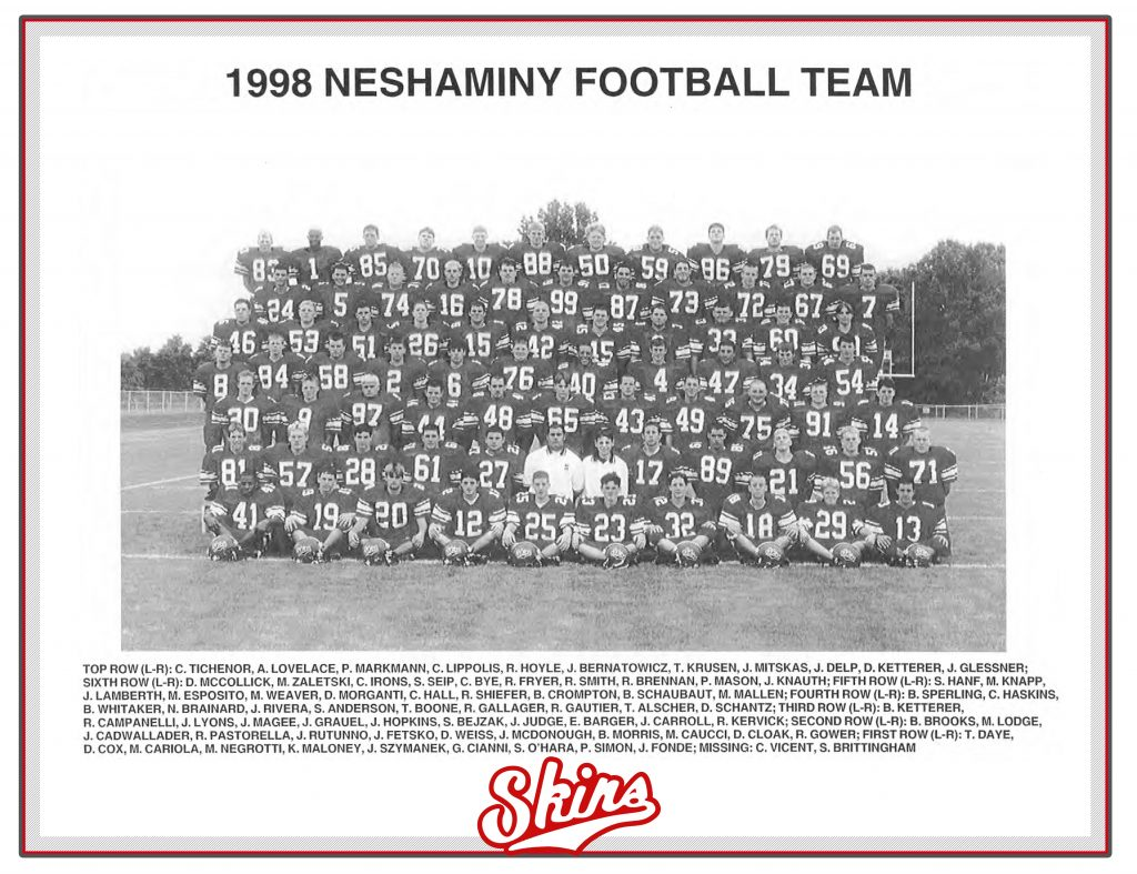 1998 Neshaminy Redskinis
