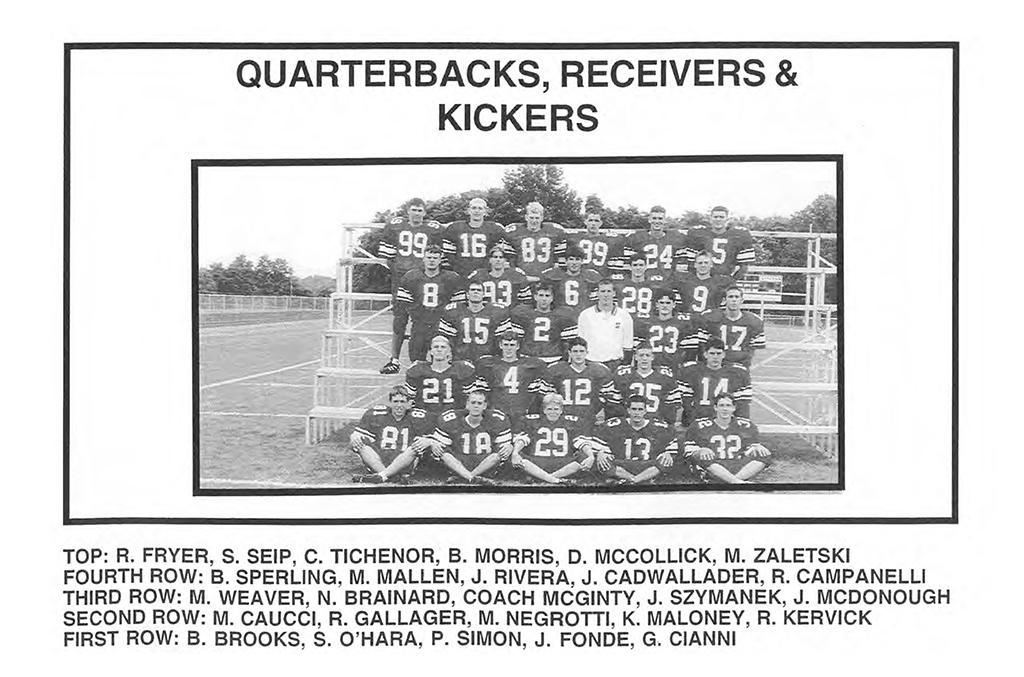 1998 QB Kickers WRs