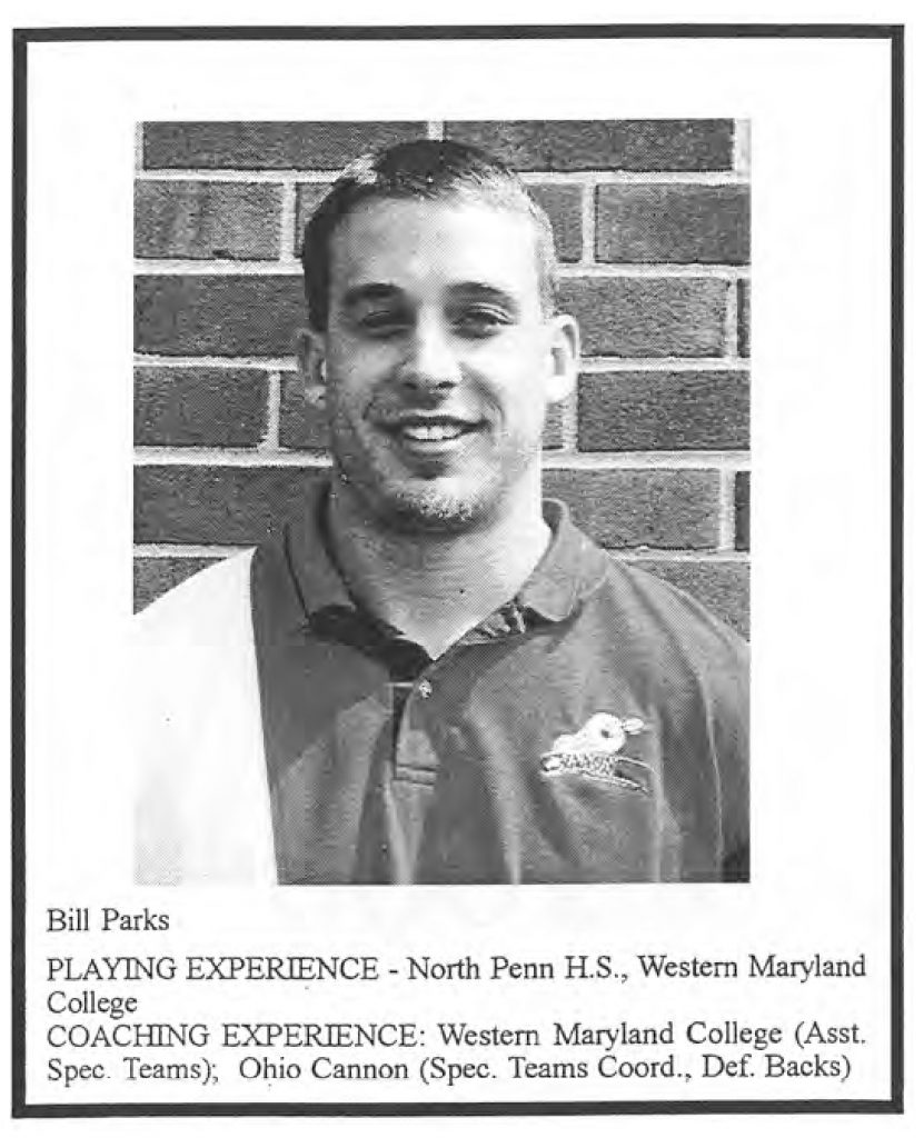 1999 Coach Bill Parks