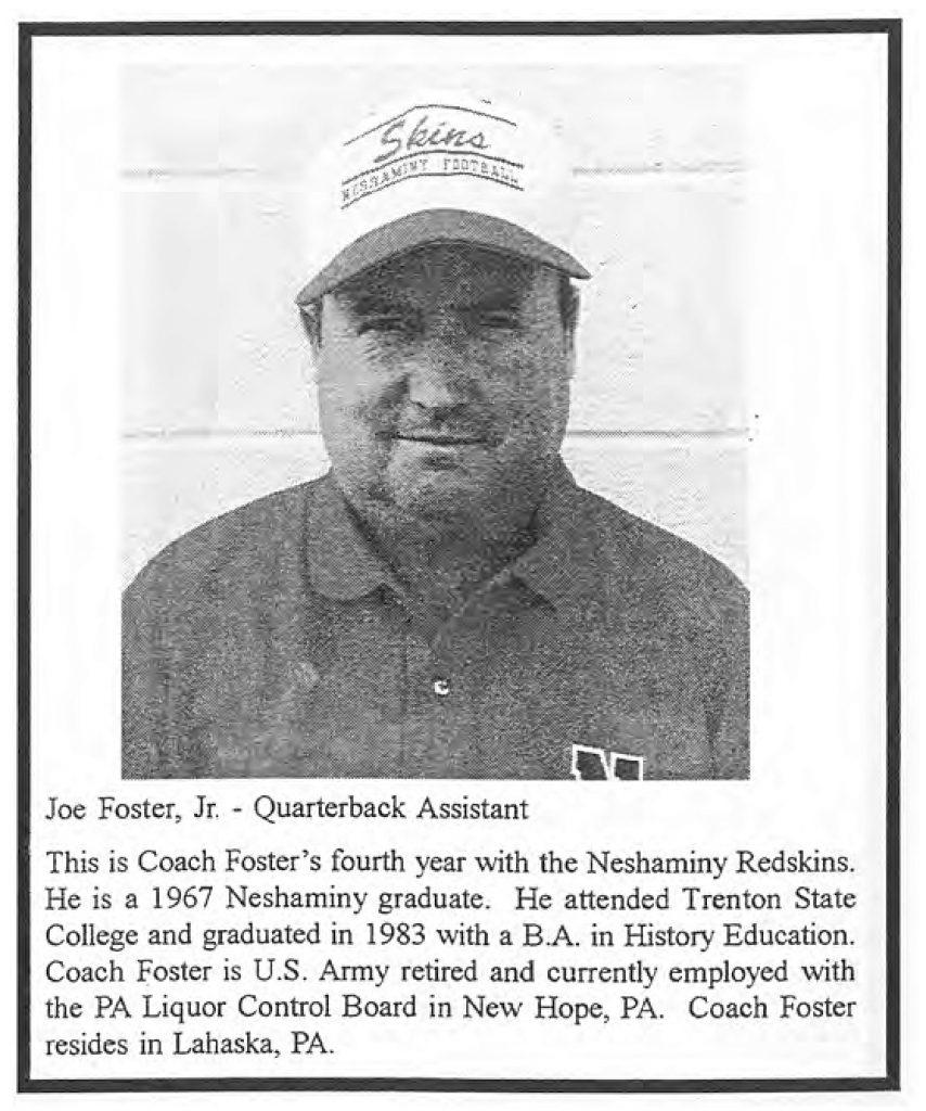 1999 Coach Joe Mustang Foster