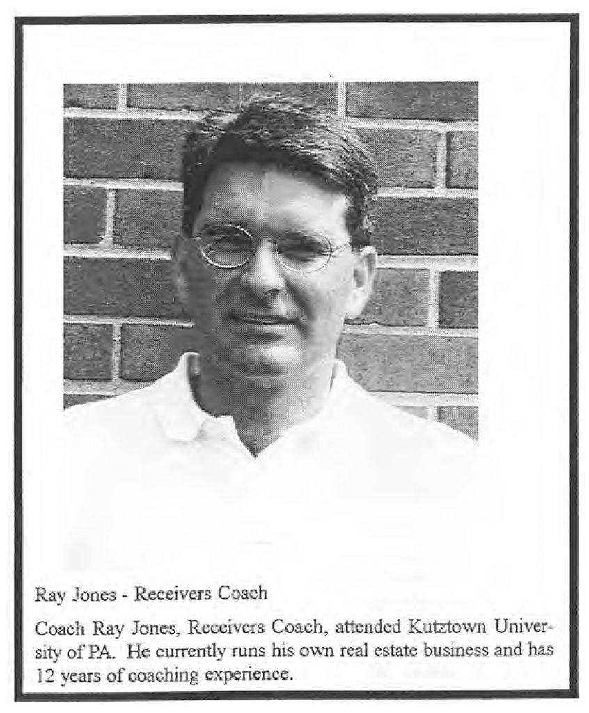 1999 Coach Ray Jones
