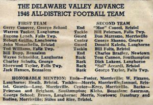 2009 Great Moment - 1946 DVA all district team