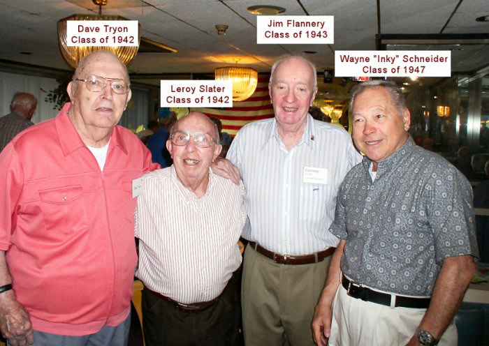 2009 Great Moment - 1946 Schneider and buds get together