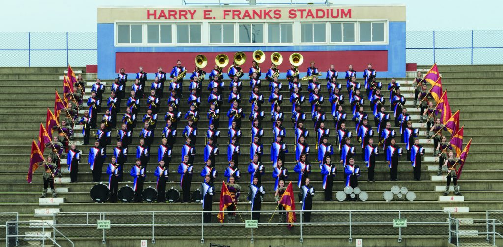 2018 NHS Marching Band