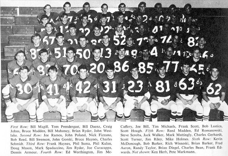 1967 Nehaminy Redskins