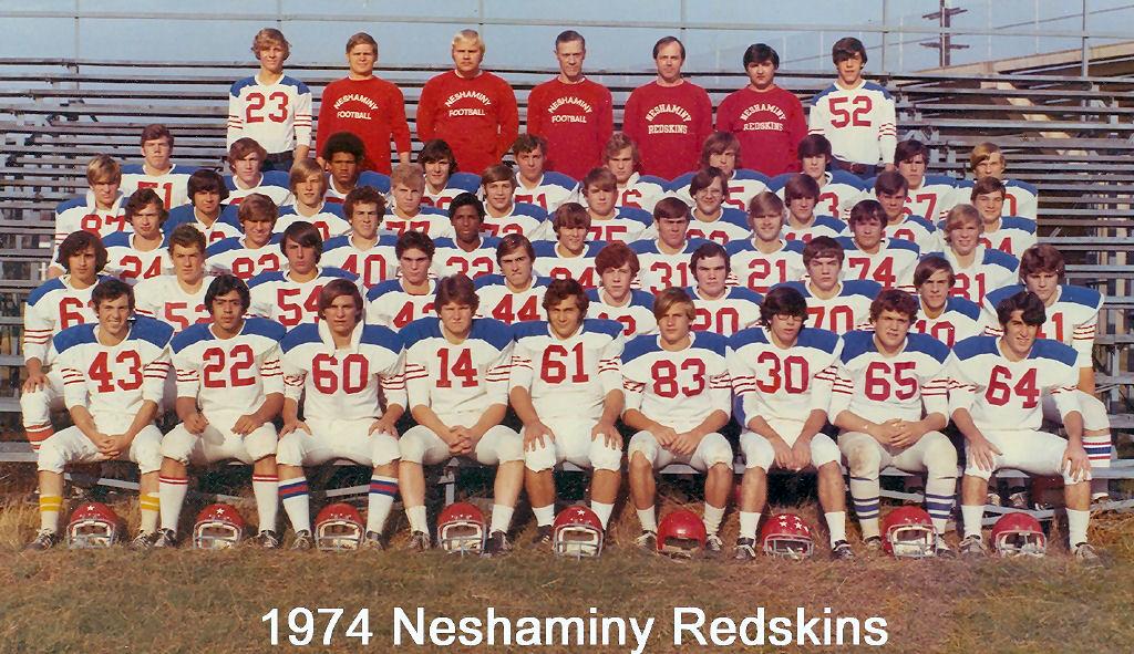 1974 Neshaminy Redskins