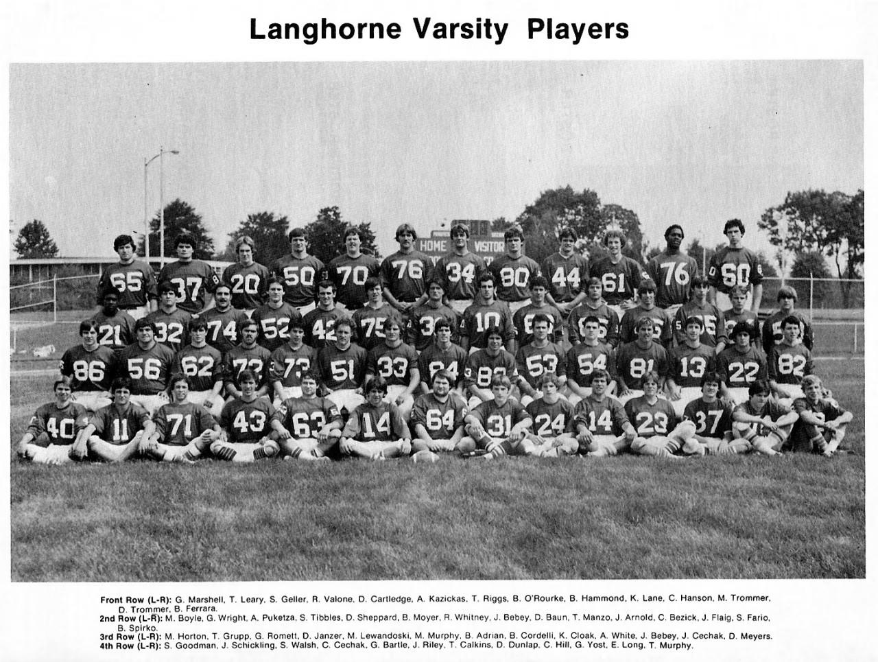 1977 Neshaminy Redskins
