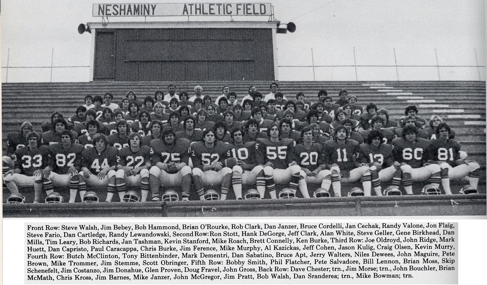 1978 Neshaminy Redskins