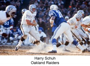 1970 Schuh_Harry Oakland Raiders