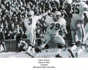 Class of 1961 Schuh_Harry Memphis State University