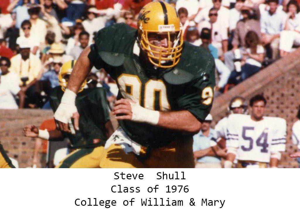 Class of 1976 Steve Shull William & Mary