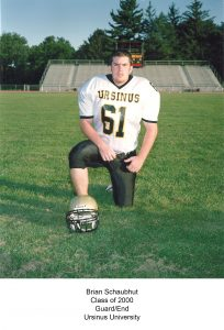 Class of 2000 Schaubhut_Brian Ursinus University