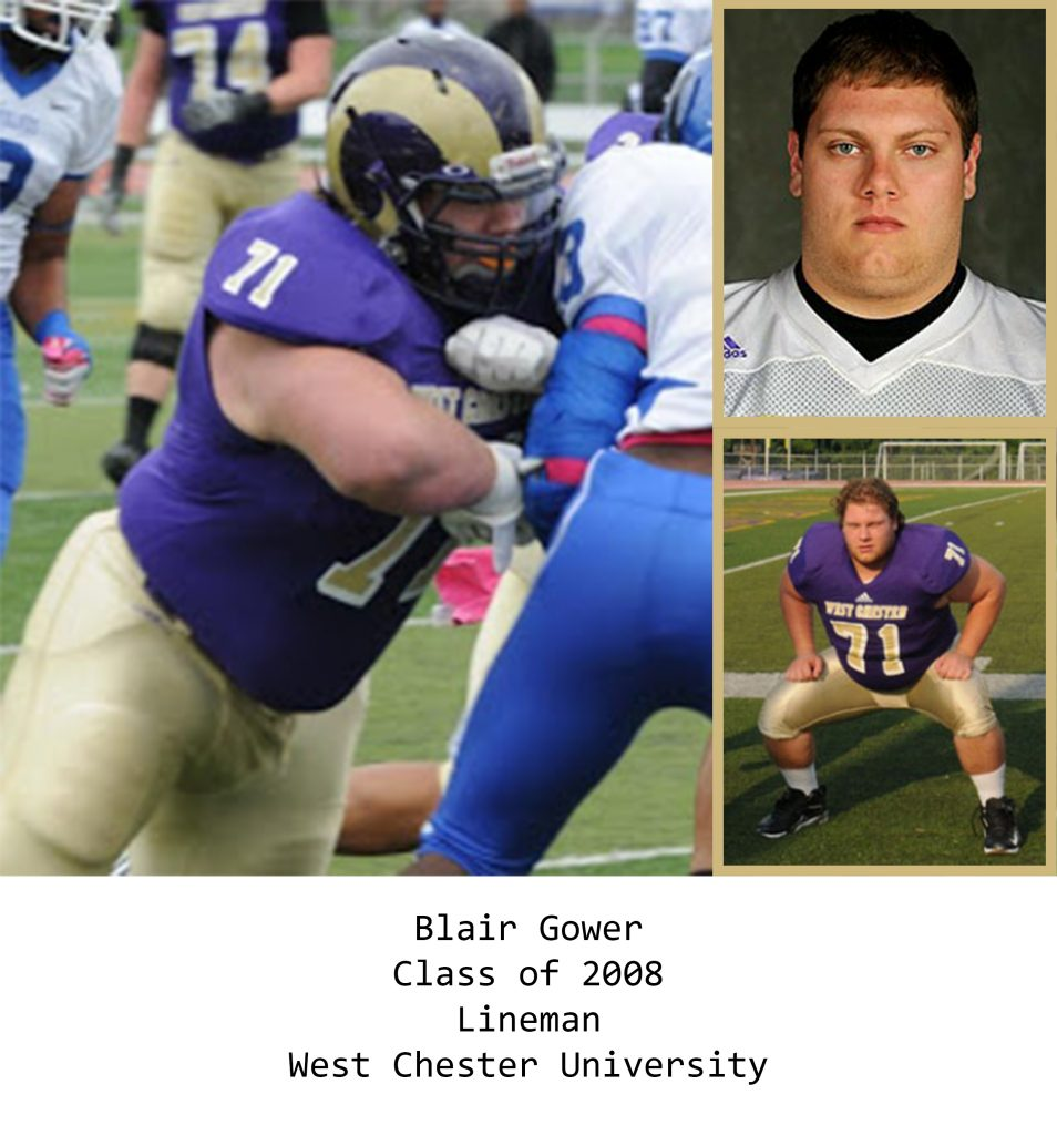 Class of 2008 Gower_Blair West Chester University
