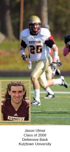 Class of 2008 Ulmer_Jason Kutztown University