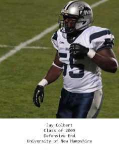 Class of 2009 Colbert_Jay University of New Hampshire 1