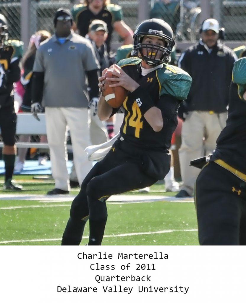 Class of 2011 Marterella_Charlie Delaware Valley University