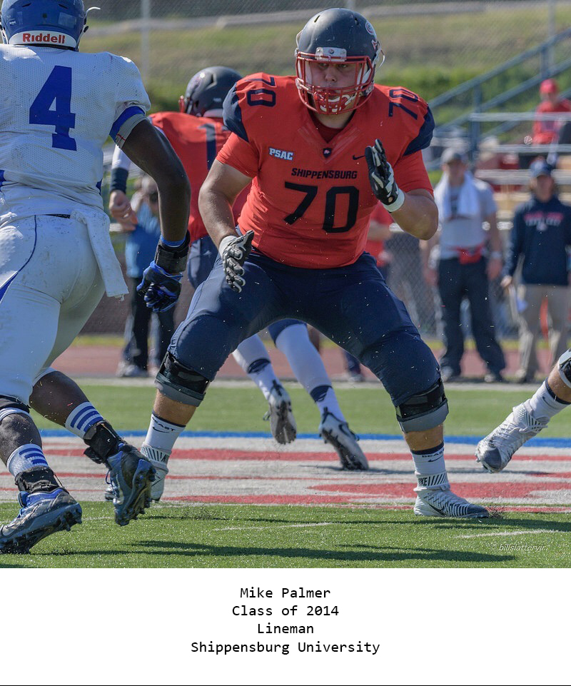 Class of 2014 Palmer_Mike Shippensburg